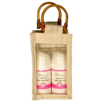 1-jar jute bag natural white