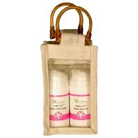 1-jar jute bag natural white