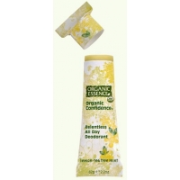 Organic Confidence Deodorant Lemon-Tea Tree Mint – Organic Essence
