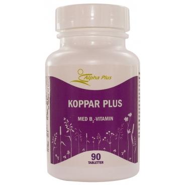 Koppar Plus 90 tabl. – Alpha Plus