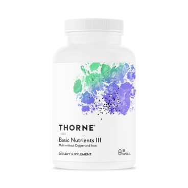 Basic Nutrients III – Thorne Research