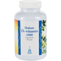 D3-vitamin 2 000 IE 180 kapslar - Holistic