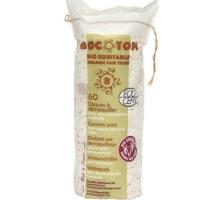 Ekologiska bomullsrondeller 60 st - Bocoton