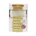 Bomullspinnar (tops) av ekologisk bomull, 200 st - Bocoton
