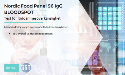 http://Nordic%20Food%20Panel%2096%20IgG%20BLOODSPOT
